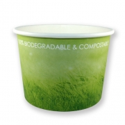 Pot en carton biodégradable et compostable